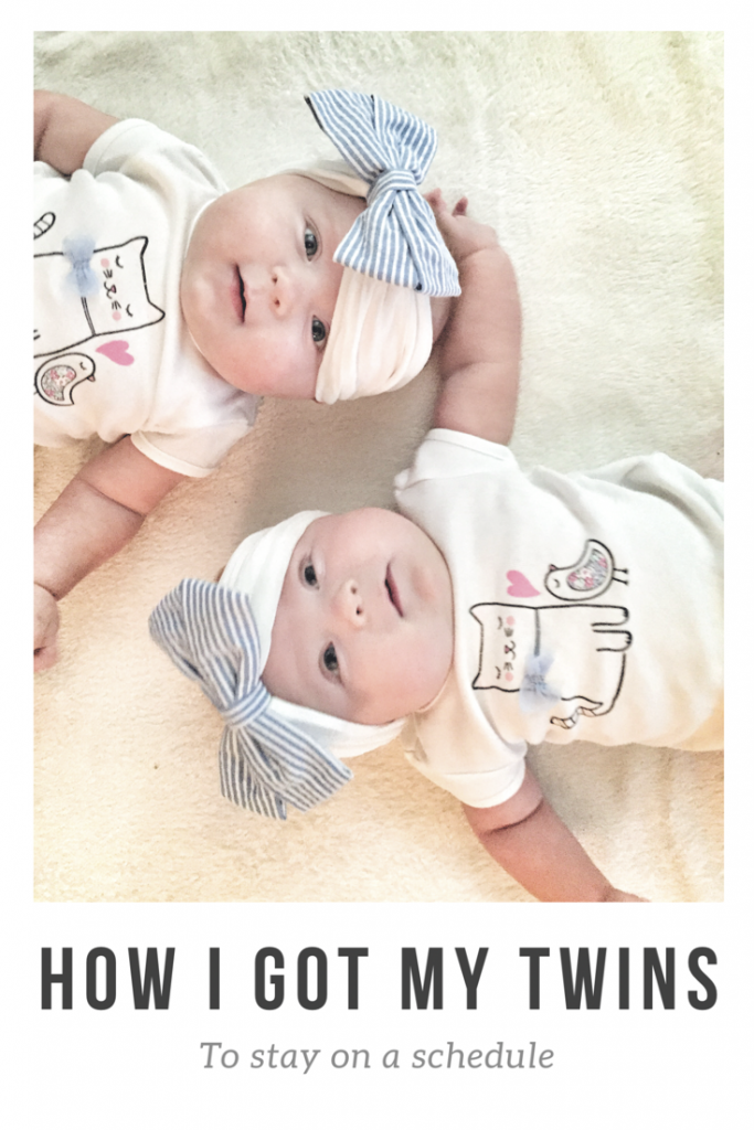 How I Got My Twins to Stay On a Schedule