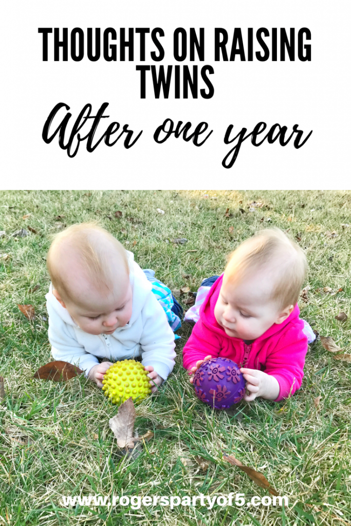 Read my thoughts on life with twins after suriving one year