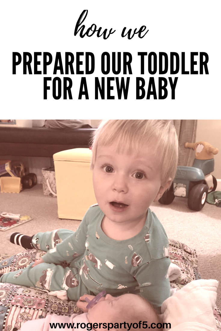 How we prepared our toddler for a new baby