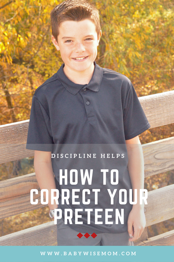 Struggling with parenting a preteen? Read on for 8 ways to correct behavior during the preteen years