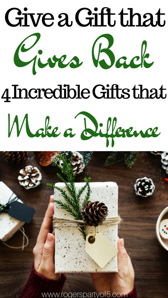 4 Incredible Gifts that Give Back. This Holiday Season, do someting more. Purchase a uniquely beautiful gift, while donating to those in need at the same time.