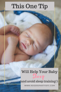 This one tip will help your baby sleep through the night and avoid sleep training!